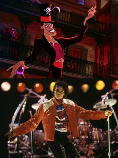 Les people qui ont inspiré les héros Disney : Michael Jackson et le Dr Facilier (La Princesse et la Grenouille)