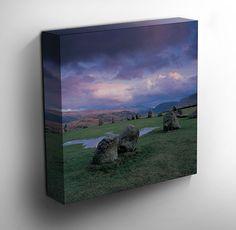 Castlerigg Stone Circle - #Keswick 1 Canvas Art Print