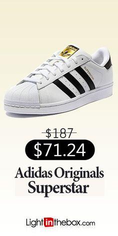 sports shoes e4dba 1587c Adidas Originals Superstar Mens Skate Shoes WhiteBlack Casual Sneakers  C77124 Skate Man, Mens