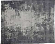 """Abstract 'Skies Are Gray' Transitional Modern Area Rug, 08'02"""" x 10'01"""" From Esmaili Rugs Collection. With its idyllic colors and abstract design elements, this modern rug gives a fresh take on traditional style. Easy to use violet-blue and shades of gray can be brought inside for an infusion of non-gloomy gray."""
