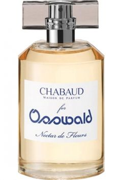 Chabaud Nectar de Fleurs of Osswald Parfumerie is a radiant white floral over a creamy amber.