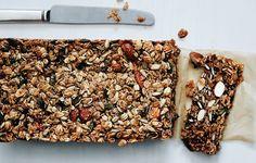 Nutty Grain and Oat Bars - Bon Appétit