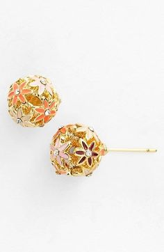 I am completing crushing on these Kate Spade stud earrings