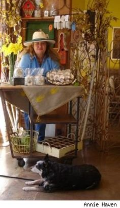 Manure teabag lady, Annie Haven @GreenSoil @Authentic Haven Natural Brew