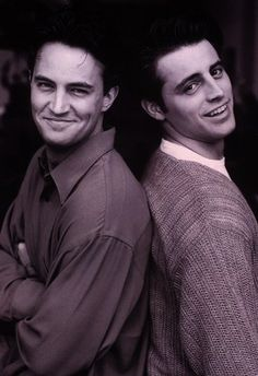 Matthew Perry and Matt Le Blanc <3