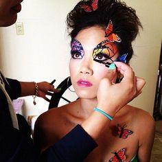 muawendaaaaaay #butterfly #inspired #photoshoot