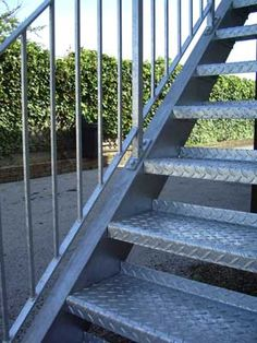 External Steel Stairs