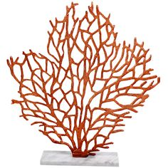 Beachcrest Home Foliage Table Sculpture