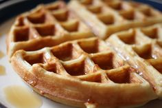 Coconut Flour Waffles: Dairy-Free and Gluten-Free