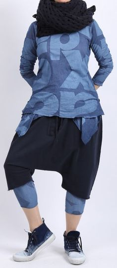 rundholz black label - Bermuda Sweater blueberry
