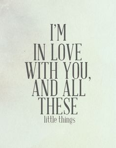 Little Things - One Direction. This song makes me fall a little more in love with them every time I hear it Me Quotes, Motivational Quotes, Inspirational Quotes, Qoutes, Quotations, Cool Words, Wise Words, One Direction Little Things, Silly Things