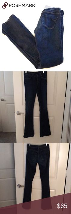 "Anthropologie A Gold E Jeans Size 24 Anthropologie A Gold E Juliette Bootcut Jeans Size 24. Rise measures 8in, Inseam measures 33.5"". Great condition. Anthropologie Jeans"