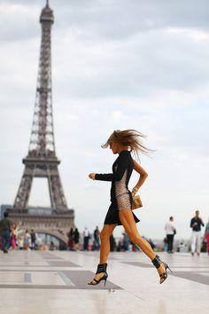 Parisian fashion shower
