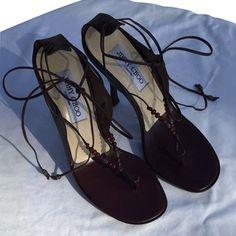 Jimmy Choo Brown Sandals