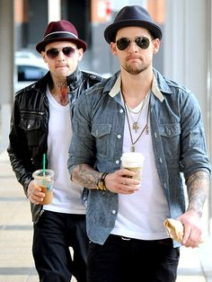 joel madden | ... Celebs Up Close, Star Tracks, Benji Madden, Joel Madden : People.com