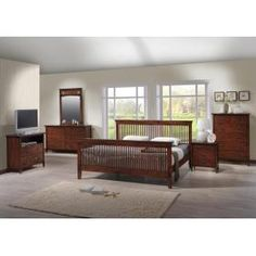 In By Amesbury Chair In Portland, ME   Mission King Bedroom Set Great Pictures