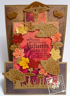 Joy!crafts made by Silvi, with the new products of Autumn.