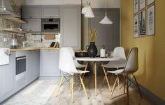 Проект недели: совсем не скучная трешка в скандинавском стиле | Свежие идеи дизайна интерьеров, декора, архитектуры на InMyRoom.ru