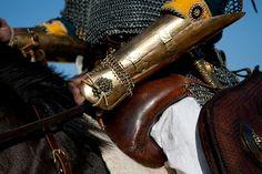 Sassanid Persian Cavalry - Sassanian Four Horn Saddle