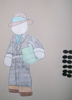 Pin the Glasses on the Spy -- VBS 2014 decor/game ideas