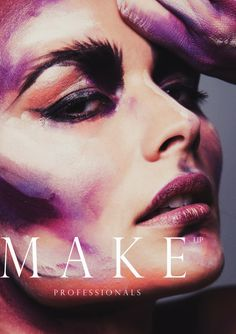 Anne-Lena Cox – Hair & Make-Up in Cologne / Duesseldorf – 21Agency #makeup #art #colourful #paint