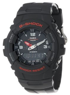 Casio Men%27s G100-1BV G-Shock Classic Ana-Digi Watch