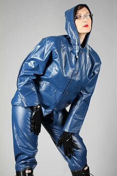 Raincoat Jacket, Pvc Raincoat, Yellow Raincoat, Rain Jacket, Mudding Girls, Latex Costumes, Rain Suit, Rain Gear, Latex Girls