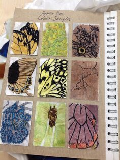 Healthy snacks for preschoolers to bring to school ideas 2017 fall Butterfly Stitches, Butterfly Wings, Textiles Sketchbook, Teaching Art, Teaching Ideas, School Projects, Art Projects, A Level Art, High School Art