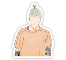 Justin Bieber Drawing  Sticker