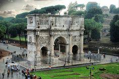 Roma. Arco de Constantino.