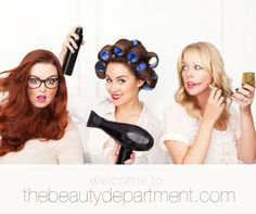 the beauty department.    never have been a Lauren Conrad fan, but digging this blog.