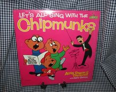 Vintage Children's LP: Let's All SIng With The Chipmunks by trackerjax on Etsy December Holidays, Used Vinyl, Holiday Sales, Chipmunks, Lps, Vintage Children, Album Covers, Singing, Coding