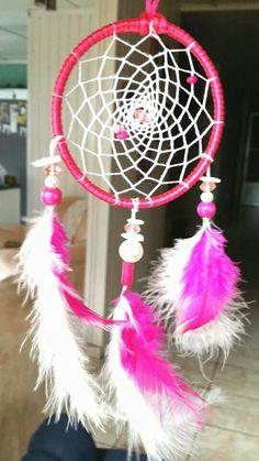 Simple Pink Beauty.... Dreamcatcher