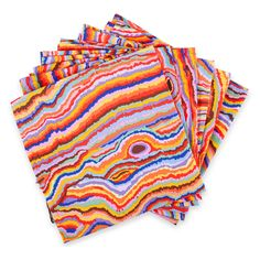 Multicolor Marbled D