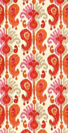 Etnic Pattern, Ikat Pattern, Paisley Pattern, Pattern Design, Motifs Textiles, Textile Patterns, Print Patterns, Ikat Fabric, Drapery Fabric