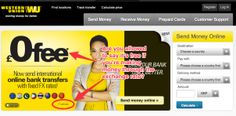 """Western Union frequently claim that customers don't pay any fees for international money transfers. Yet as we can see from this advert, Western Union makes money through """"FX gains"""". Surely this counts as a fee?"""