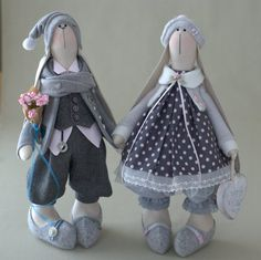 Robert Bunny-Conejo Liebre juguete juguete por BroderieLittleCorner