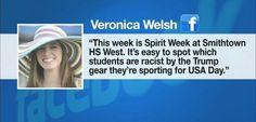 Teacher: Kids wearing Trump gear are racist - http://conservativeread.com/teacher-kids-wearing-trump-gear-are-racist/