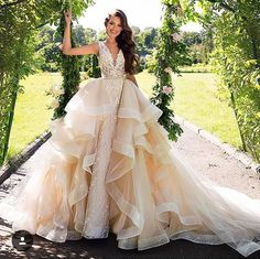 Bridal store in Idaho. We have a large selection of wedding dresses from the world's top bridal designers. MillaNova, Crystal Design and all discounted sample dresses. Wedding Dress Train, Lace Mermaid Wedding Dress, Bridal Lace, Dream Wedding Dresses, Bridal Gowns, Wedding Gowns, 2017 Bridal, Different Wedding Dresses, Pallas Couture