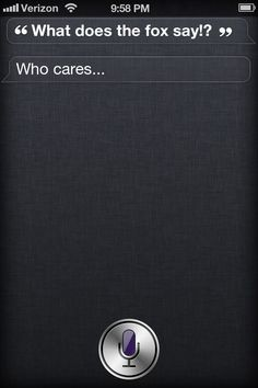 Siri Says: Conversation 2! Any Ideas for conversations? Comment them!