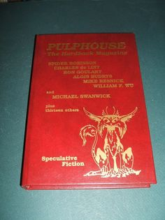 Signed limited Full Red Leather Pulphouse Winter 1988 Signed by all contributors