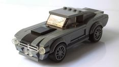 Ford Mustang Shelby GT500 in Speed Champions scale [Instructions]