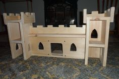 Inside view of the castle we built for our daughter!