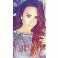 She is So Beautiful   #DemiLovato #Snapchat #Queen #Beauty #Selfie