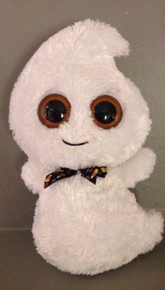 Just got my little brother into Beanie Boos! He's been after this cute little ghost since I got him introduced.