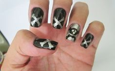 Passo a passo: nail art com caveira! - Clube do Esmalte - CAPRICHO