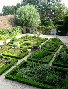 Medieval Herb Garden, by Haaglander