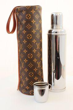 6a0403cb Louis Vuitton Monogram Picnic Bag Tote with Thermid France Vacuum Flask  Monogram Canvas, Louis Vuitton