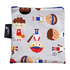 Colibri - Large Reusable Bag - Sports Boy Eco Kids, Snack Bags, Reusable Bags, Tween, Kids Rugs, Cute, Sports, Hs Sports, Kid Friendly Rugs