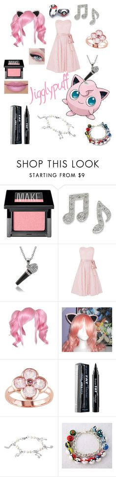 """""""Jiggly puff"""" by zamantha-palazuelos ❤ liked on Polyvore featuring Make, Kaliko, NYX and West Coast Jewelry"""